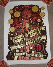 Edward Sharpe & The Magnetic Zeroes concert poster print Eugene 9-18-13 2013