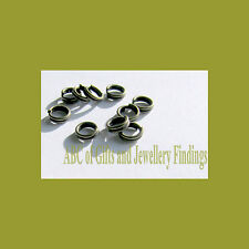 200 pcs Bronze Tone Split  Jump Rings 4 mm x 0.6 mm Dia