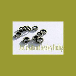 200 pcs Bronze Tone Split  Jump Rings 4 mm x 0.6 mm Dia