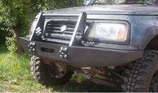 SUZUKI VITARA Bull Bar in acciaio anteriore Verricello Paraurti OFF-ROAD