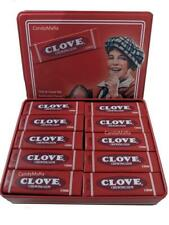 Clove Gum Classic Chewing Gum Vintage Tin - Includes 10 packs 5 Sticks each