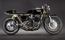 4 into1 exhaust system Yoshimura style HONDA CB750 SOHC Cafe Racer Brat Chopper