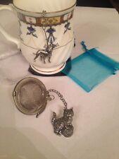 Gato y lana 2 in (approx. 5.08 cm) Bola De Malla Infusor de té colador de Esfera de Acero Inoxidable A42
