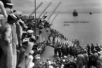 Japan Signing Surrender USS Missouri 4x6 World War II WW2 Picture Photo 69