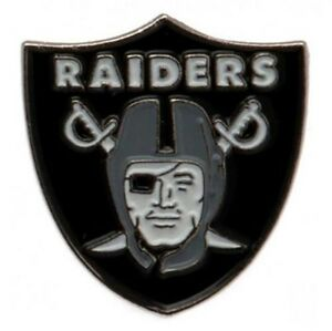 Oakland Raiders - Metal Crest Badge - NFL GIFT