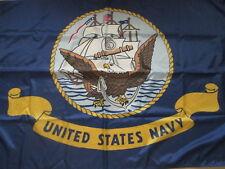 United States Navy Flag Anchor 3x5 ft Ship Eagle Usn banner Naval 36x60