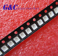 100 pcs SMD SMT 3528 Super bright Red LED lamp Bulb GOOD QUALITY