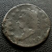1810 Large Cent Classic Head One Cent 1c Rare Circulated #20716