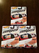 Hot Wheels 2018 Car Culture Euro Speed Audi R8 LMS White (Lot of 3) *NEW*