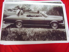 1966 FORD GALAXIE 500 XL CONVERTIBLE      BIG  11 X 17  PHOTO  PICTURE