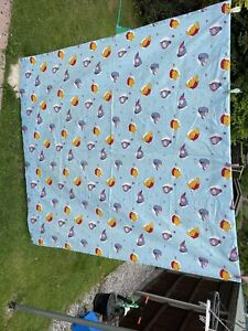 """Pair Of Winnie The Pooh Curtains 62"""" Wide By 70"""" Drop"""