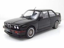 BMW m3 e30 evo sport 1990 Noir Voiture Miniature 1:18 Solido