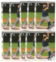 x400 DANIEL ESPINO 2019 Bowman Draft 27 Rookie Card RC lot/set Cleveland Indians