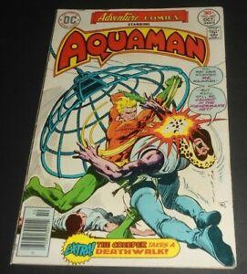 ADVENTURE COMICS # 447 FN/VF ( 1976.DC) AQUAMAN PRELUDE TO ARMAGEDDON