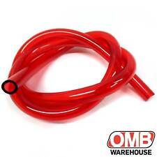 "3' Length Of 1/4"" ID X 3/8"" OD Fuel Line Red Mini Bike Go Kart Mower Drift Trike"