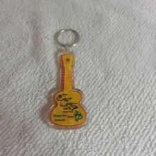 Brand New - Hawaii  - Guitar Shaped Keychain