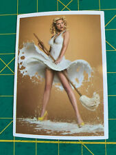 New listing Vintage Style Pinup Woman Sticker