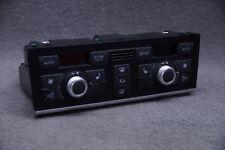 Audi A6 4F C6 Klimabedienteil Klimatronic PLUS 4F1820043AC 4F0910043 Schwarz /DR