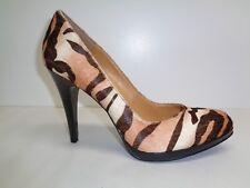 Nine West Size 10 M ROCHA Natural Leather New Womens Heels Platform Pumps Shoes