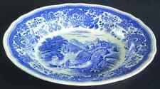 Villeroy & Boch BURGENLAND-BLUE Rimmed Soup Bowl 6537314