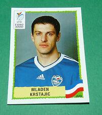 N°217 MLADEN KRSTAJIC JUGOSLAVIJA YOUGOSLAVIE PANINI FOOTBALL UEFA EURO 2000