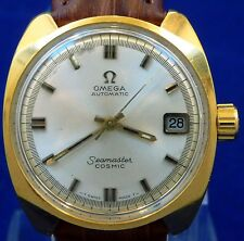 VINTAGE 1967 OMEGA AUTOMATIC SEAMASTER COSMIC QUICK SET DATE WATCH SERVICE 565
