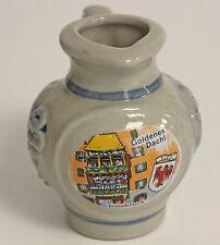 Vintage Mini Pitcher Pottery Grapes Goldenes Dachi, Tirol Innsbruck Austria