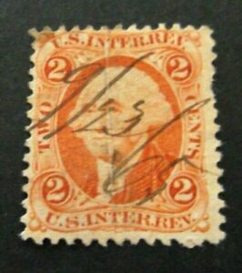 US-1865-Two Cent Int Revenue-Used