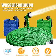 7,5m - 45m Gartenschlauch Flexibler Wasserschlauch Flexibel Bewässerung Rohr DHL