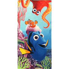 "Disney Pixar Dory & Nemo ""No Talking"" Licensed Beach Towel (Sale)"