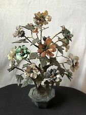 More details for large vintage chinese decorative gemstone bonsai
