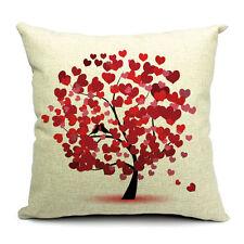 Linen Blend Farmhouse Decorative Cushions & Pillows