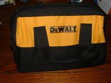 DEWALT 18V 20V CORDLESS DRILL / IMPACT BATTERY TOOL STORAGE BAG  LARGE