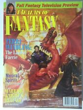 Terri Windling: The Land Of Faerie 1997 Realms Of Fantasy Magazine Xena