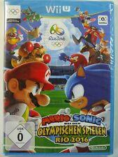 !!! nintendo wii u juego Mario & Sonic rio 2016 sellados top!!!