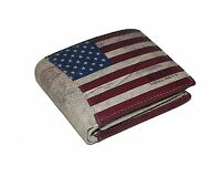 Herren Damen Portemonnaie USA FLAGGE Geldbörse  Portmonee Klappbörse  1162