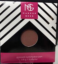 "BNIB Makeup Geek Matte Eye Shadow ""CHERRY COLA"" Round Pan Pressed Powder"