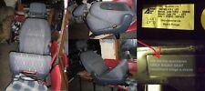1 SEAT-ALHAMBRA VW-SHARAN FORD-GALAXY 6+7'ter 7m SEDILE POSTERIORE DESTRO SEDILE POSTERIORE