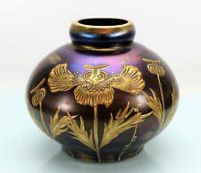 """Lötz Jugendstil Mohndekor """"ruby enameled"""" Glas Vase Loetz - 19250 –"""