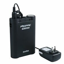 Godox PB820S 2000mah External Power Battery Pack for Speedlite Speedlig Flash