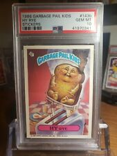 1986 Topps GARBAGE PAIL KIDS 4th series OS4 #143b Hy Rye PSA 10 Gem Mint 0341