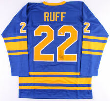 07f10e4088c Lindy Ruff Signed Buffalo Sabres Captain Jersey (Beckett) Play Career  1978–1991