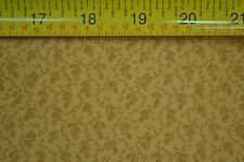 By 1/2 Yd, Brown on Tan, Quilting, Kansas Troubles Quilters, Moda, M7085