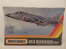 Matchbox Sea Harrier FRS1 1/72 PK-52 1980's 2 Colour kit SCARCE Shrink Wrapped