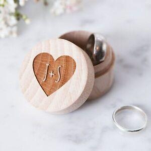 Rustic Wedding Ring Bearer Box, Personalized Wedding Ring Box, Wedding Decor Cus