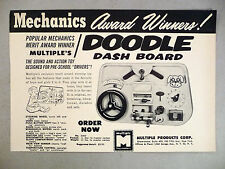 Dodge Car Dash Board Toy PRINT AD - 1962 ~ Multiple Products Toys