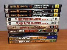 Lot of 19 John Wayne Movies - Region 4/all Region DVD