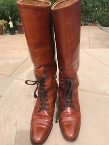 Vintage Riding Boots, Calvin Klein, Made in Italy, Stunning, size 9