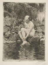 Anders Zorn Reproduction: Dagmar, 1912 - Fine Art Print