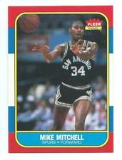 1986-87 FLEER BASKETBALL MIKE MITCHELL #74 NM